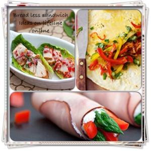 Breadless sandwich ideas on lifeline online